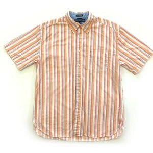 Tommy Hilfiger Short Sleeve Shirt Striped Casual